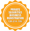 Precision Locksmiths have Private Securities registration.